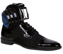 Schuhe Herren, Lackleder