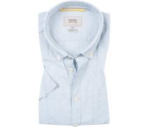 Ober-Hemd, Regular Fit, Leinen