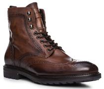 Schuhe Schnürstiefeletten, Leder