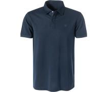 Polo-Shirt Polo, Baumwoll-Piqué, nachtblau