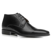 Schuhe Schnürstiefeletten, Kalbleder,