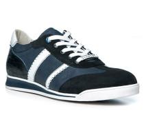 Sneakerschuh Herren, Velours