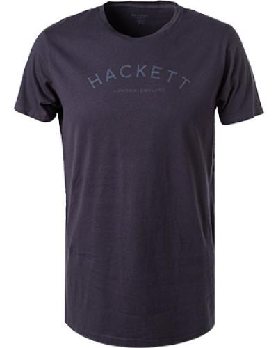 T-Shirt, Classic Fit, Baumwolle, duneklblau
