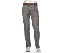 Hose Chino, Regular Slim Fit, Baumwoll-Stretch
