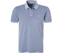 Polo-Shirt Polo, Baumwoll-Piqué, bleu