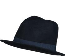 Hut, Wolle, nachtblau