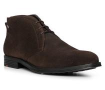 Schuhe Dessert Boots Page, Kalbveloursleder