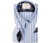 Hemd, Regular Fit, Oxford, gestreift