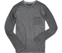 Sweatshirt, Shaped Fit, Baumwolle