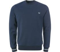 Pullover Sweater, Baumwolle, nachtblau