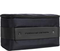 Tasche Beautycase, Microfaser, nachtblau
