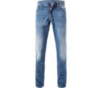 Jeans, Slim Fit, Baumwolle