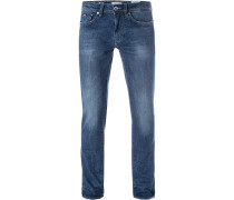 Bluejeans, Slim Fit, Baumwoll-Stretch