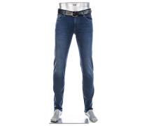 Jeans Pipe, Slim Fit, Baumwoll-Stretch T400 12 oz