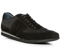 Schuhe Sneaker, Veloursleder-Textil
