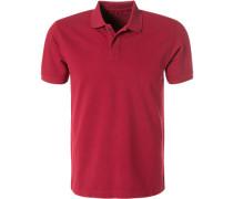 Polo-Shirt Polo, Baumwoll-Piqué, erdbeerrot