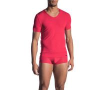 T-Shirt, Mikrofaser, rot