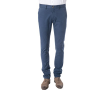 Hose Chino, Skinny Fit, Baumwolle