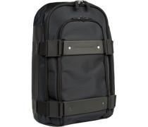 Tasche Rucksack, Microfaser, nachtblau
