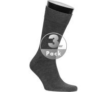 Socken Socken, Baumwolle, anthrazit
