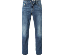 Blue-Jeans, Comfort Fit, Baumwoll-Stretch