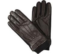 Handschuhe>br>Ziegennappa, Fleecefutter