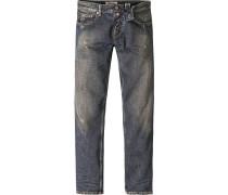 Blue-Jeans Adam Slap Denim, Slim Fit, Baumwolle