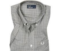 Kurzarm-Hemd, Popeline