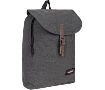 Tasche Rucksack, Microfaser, grau