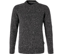 Pullover, Wolle, graphit meliert