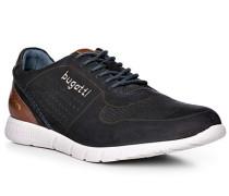 Schuhe Sneaker, Leder, dunkelblau