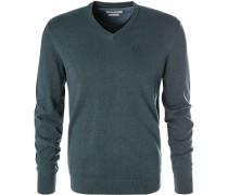 Pullover, Kaschmir, dunkelgrün