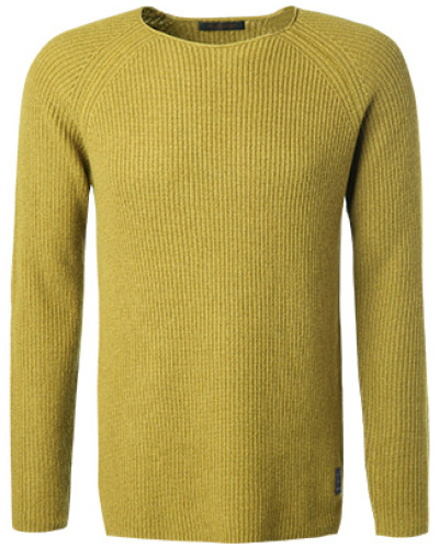 Pullover, Wolle-Kaschmir, limone