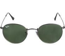 Brillen Sonnenbrille Round, Metall