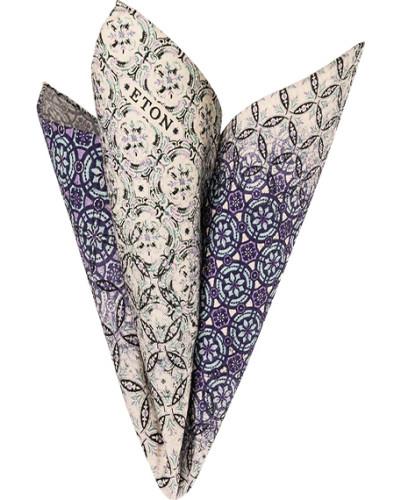Accessoires Einstecktuch, Baumwolle-Seide