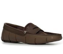 Schuhe Loafer, Microfaser wasserabweisend