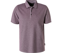 Polo-Shirt Polo, Baumwoll-Piqué, dunkelrot