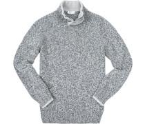 Pullover Troyer, Schurwolle, meliert