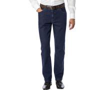 Jeans, Regular Cut, Baumwoll-Stretch