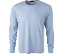 Pullover, Schurwolle, hellblau