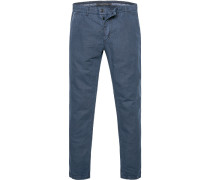 Hose Chino, Tapered Fit, Leinen-Baumwolle