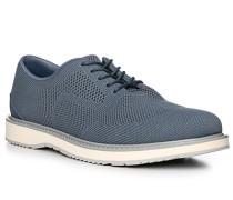 Schuhe Derby, Textil, blaugrau