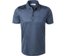 Polo-Shirt Polo, Seide-Jersey