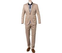 Anzug, Shaped Fit, Baumwolle