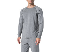 Schlafanzug Pyjama-Oberteil, Baumwolle