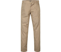 Hose Chino, Tapered Fit, Baumwolle