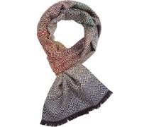 Schal, Wolle, gemustert