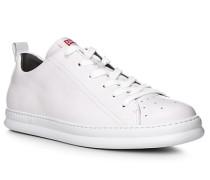 Schuhe Sneaker, Glattleder