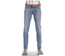 Jeans Slim, Slim Fit, Baumwoll-Stretch T400