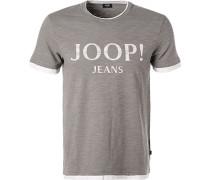 T-Shirt, Modern Fit, Baumwolle
